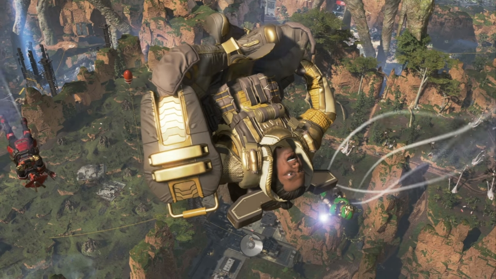 Apex Legends Skydive Emotes