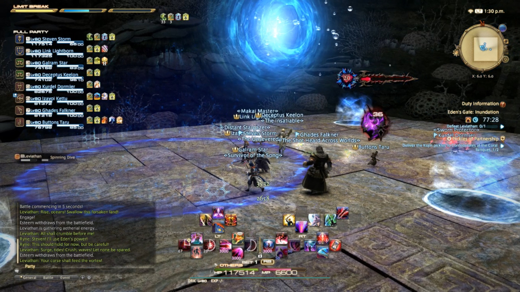 Inundation (Normal): FF14 Eden Raid Guide – Boss Strategy & Tips