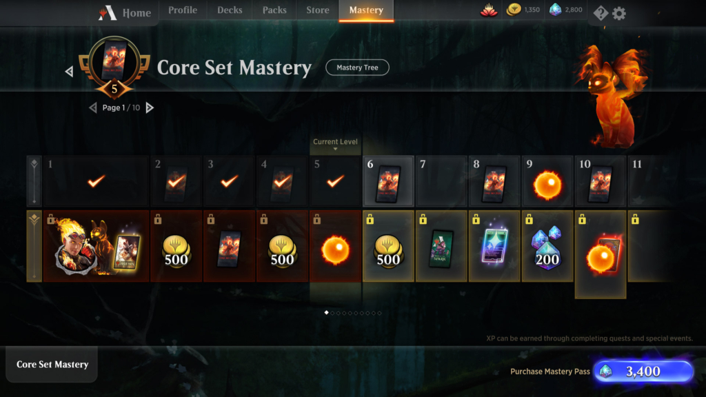 MTG Arena Mastery Pass Guide: End Date, Orbs, Rewards, XP Cap