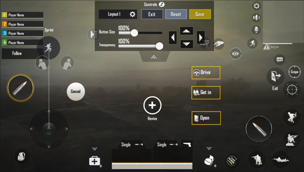 PUBG Mobile Controls Guide - Layout Differences, Customization, and