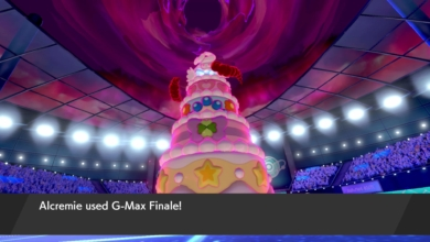 Pokemon Sword Shield Gigantamax Alcremie