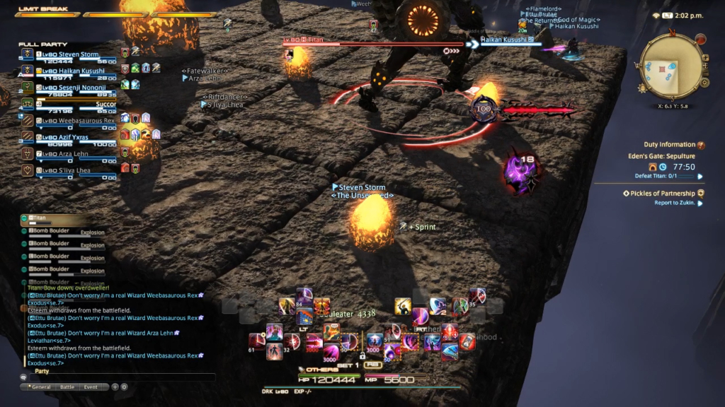 Sepulture (Normal): FF14 Eden Raid Guide – Boss Strategy & Tips