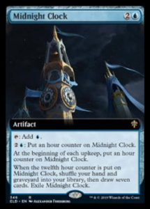mtg midnight clock