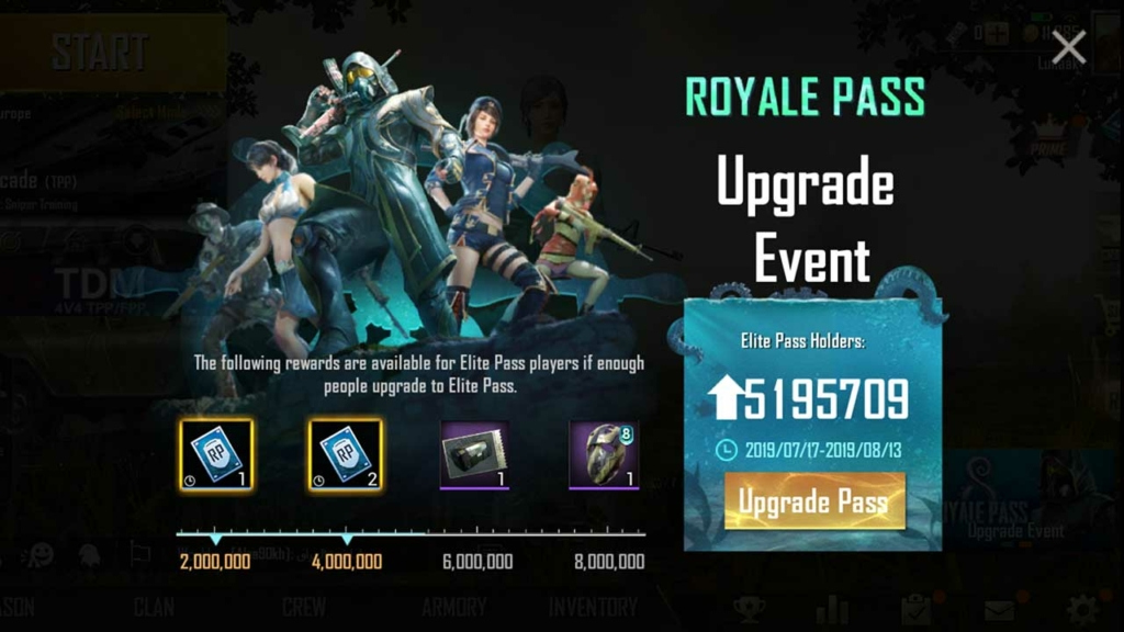 Pubg Mobile Royale Pass 8 Guide Rewards And Release Date