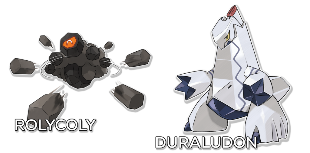 pokemon sword shield rolycoly duraludon