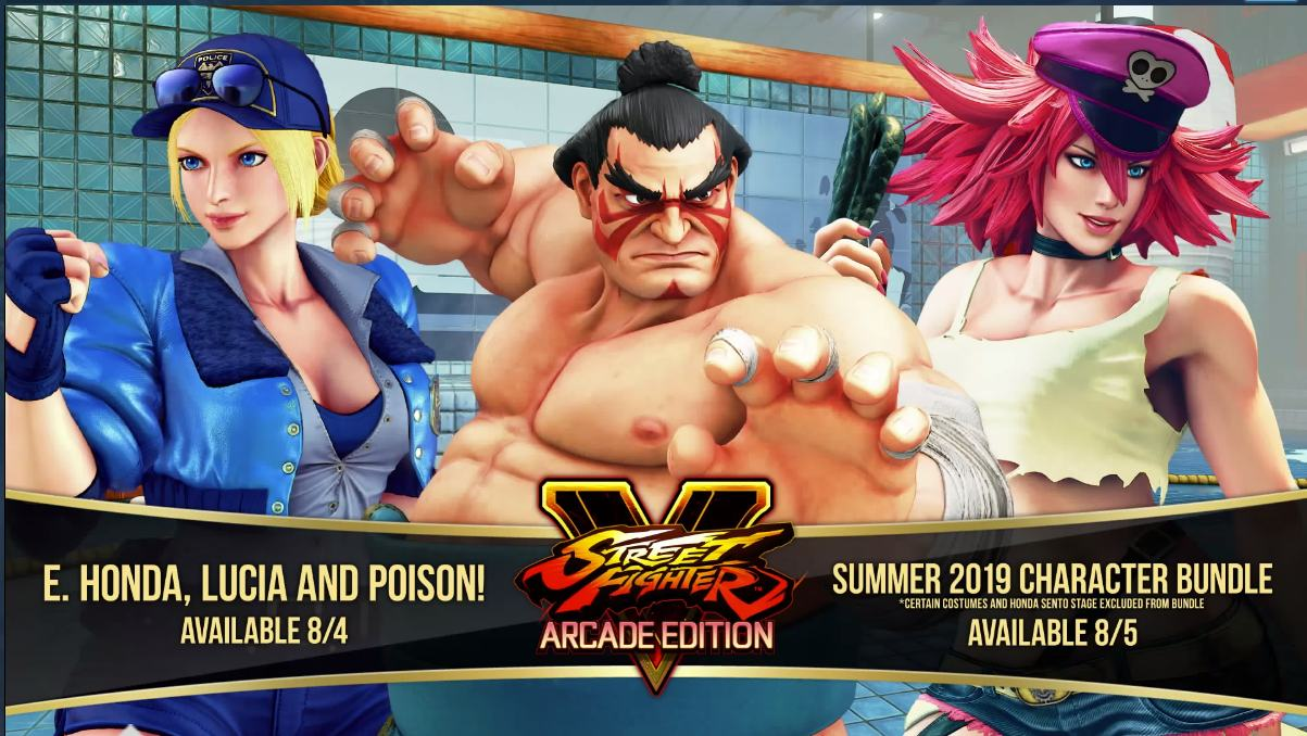 street fighter v new characters 2020
