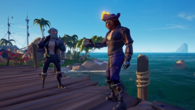 Photo of Sea of Thieves Dark Relics Update Adds Harpoon Gun Rowboats