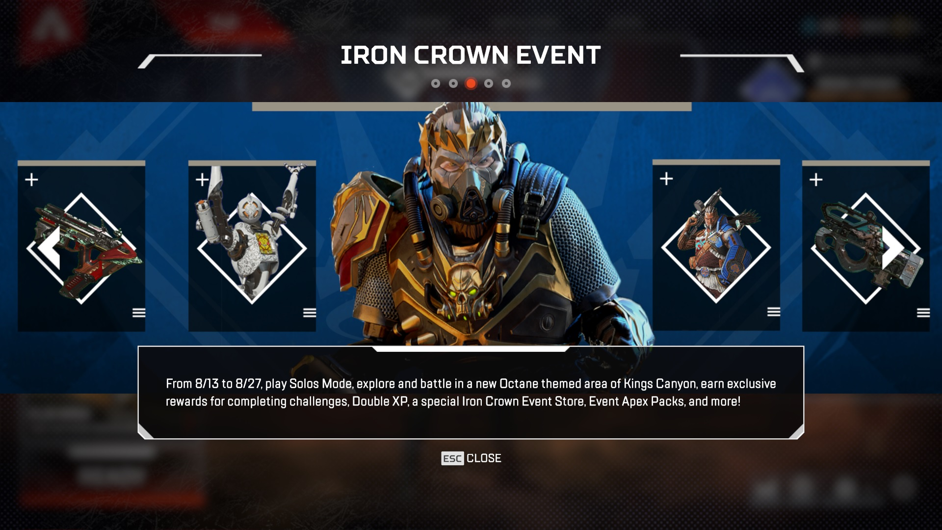 Respawn Addresses Apex Legends Iron Crown Skins Controversy
