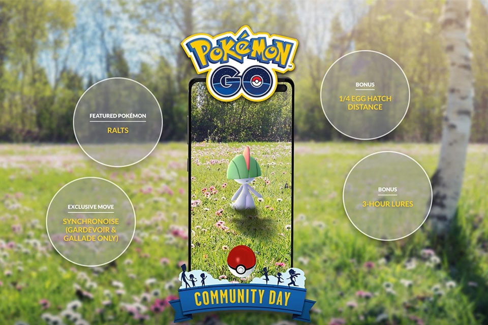 Pokemon GO Ralts Community Day Guide - Stats, Shiny Odds