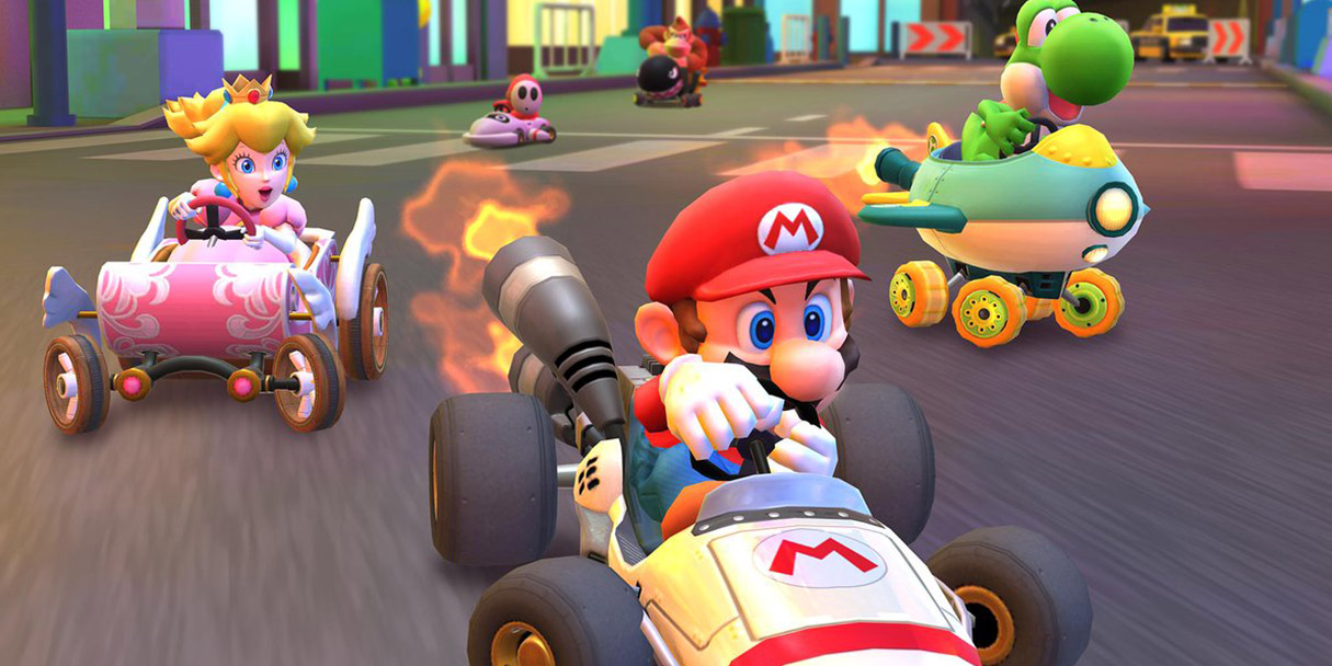 Mario Kart Tour Characters List All Available Drivers Karts And Gliders