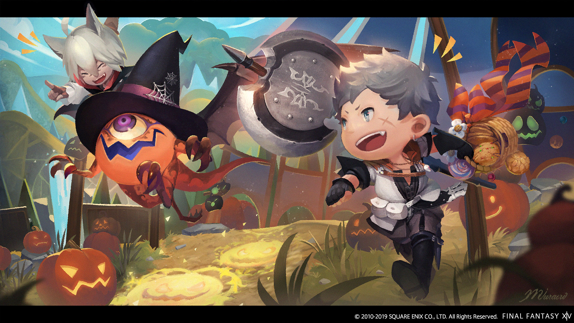 Ffxiv Halloween Event 2020 Final Fantasy XIV Halloween Event To Start October 17