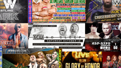Photo of Pro Wrestling Schedule for the Week of 10/7/2019