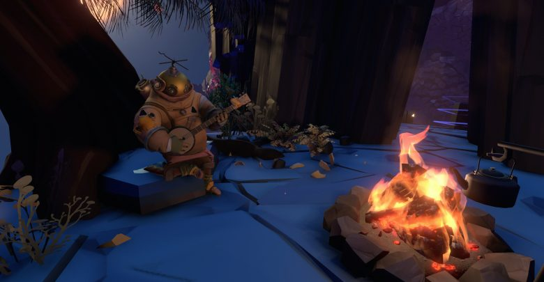 outer wilds campfire