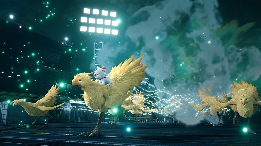 ff7 chocobo moogle summon
