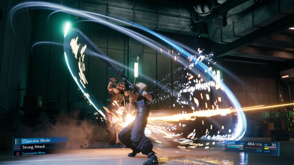 cloud ability screenshot ff7 remake final fantasy