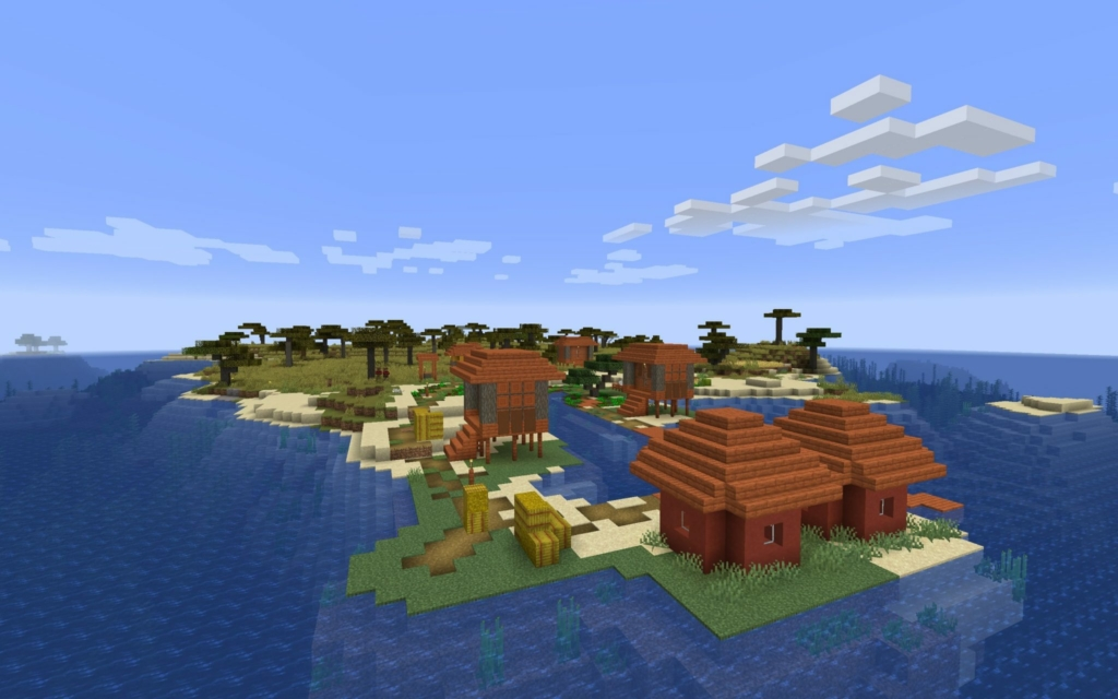 minecraft island shipwrecks