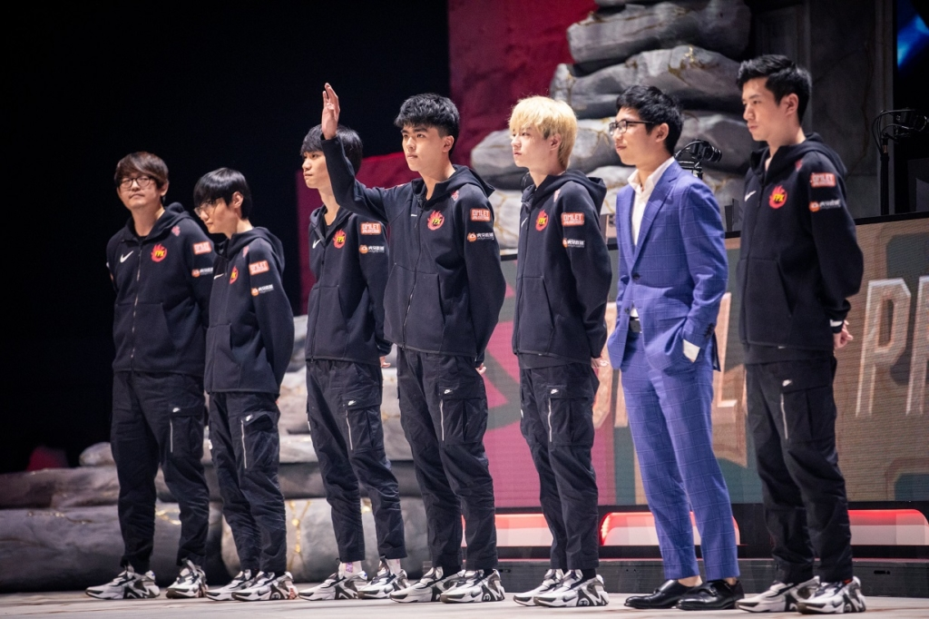 FPX at League of Legends Worlds Semifinals 2019