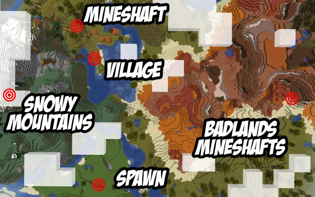 minecraft mine shafts seed