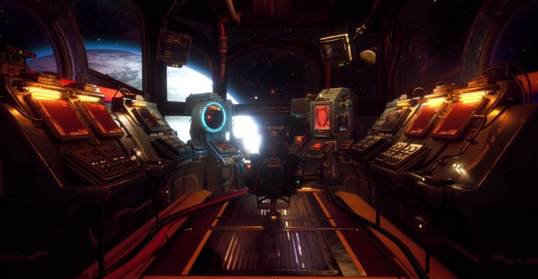 The Outer Worlds ship bridge