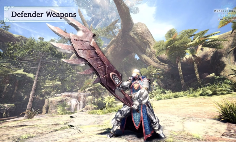 MHW Defender Weapons