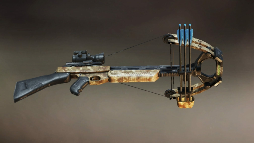 PUBG Mobile crossbow
