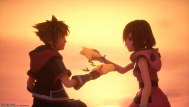 Photo of Kingdom Hearts III's Re:Mind DLC Patches in Agency for Kairi