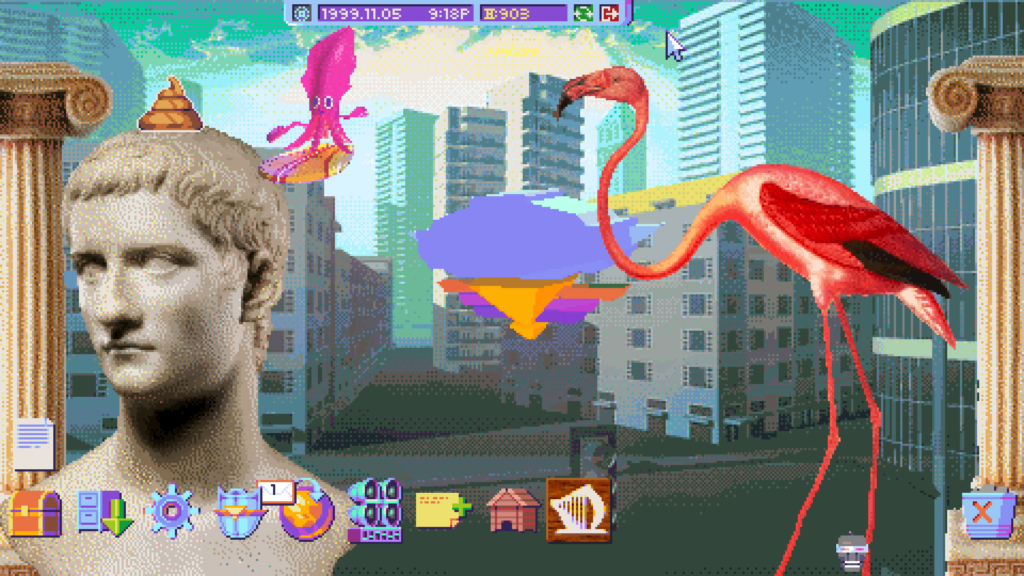 hypnospace outlaw screen