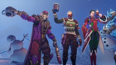 Photo of Soldier: 76 Has an Ugly Sweater Skin, So Don't Talk to Me About Anything Else Today