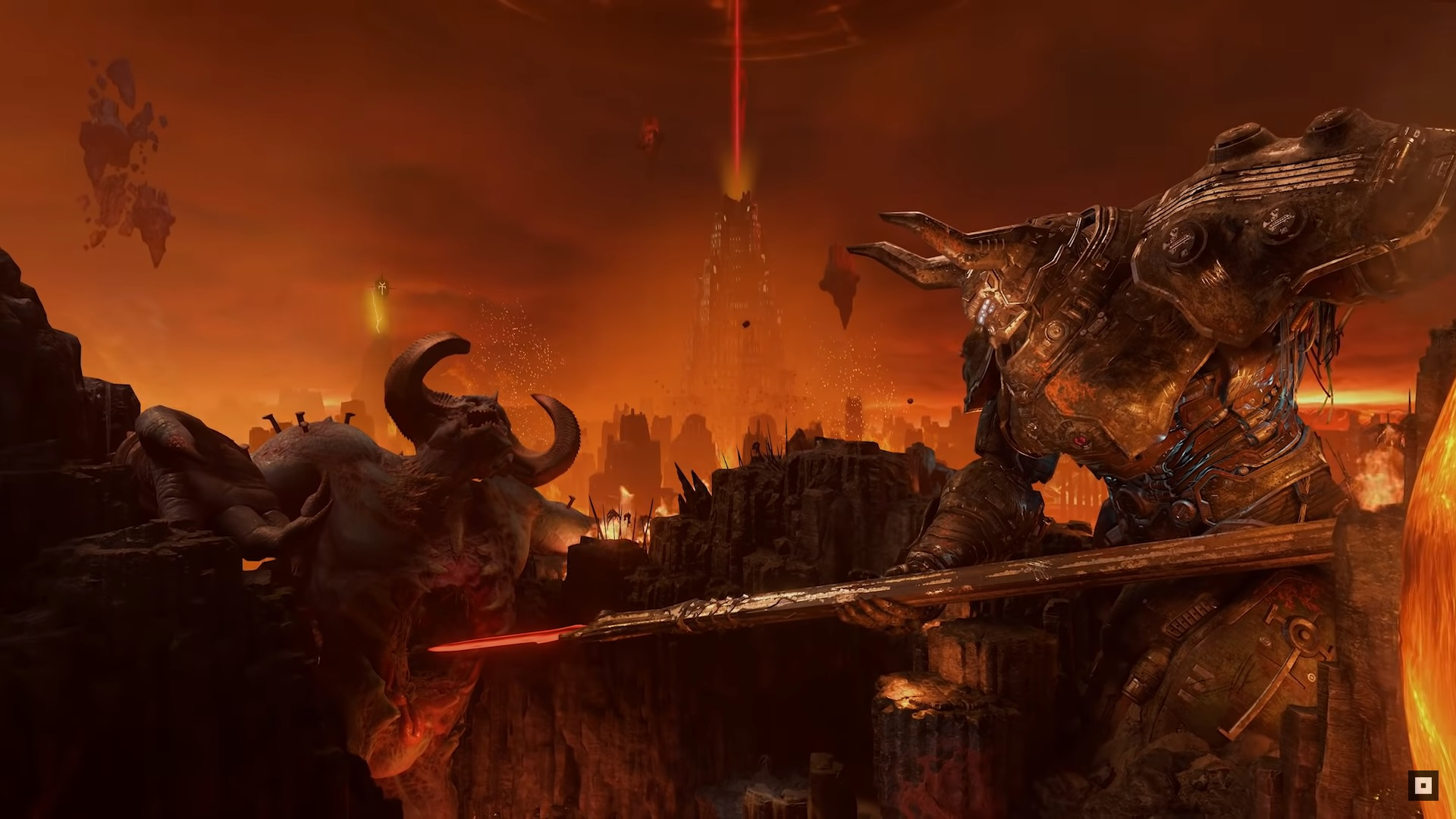 Things Seem Bad In The Newest Doom Eternal Trailer