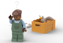 Photo of Fan-Proposed Untitled Goose Game Lego Set Lets You Beak Havoc