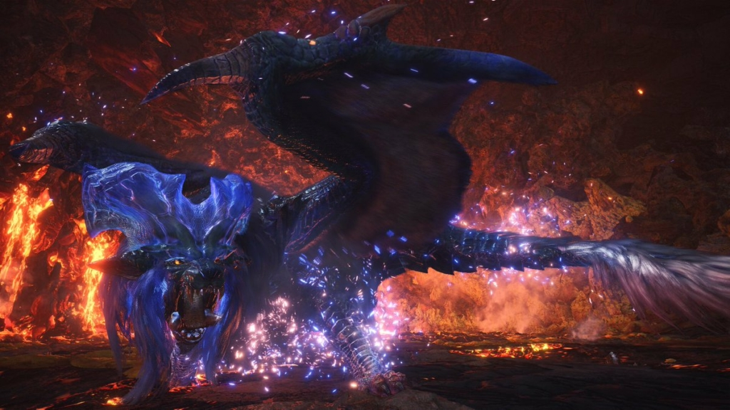 MHW Blue Dust Red Lust