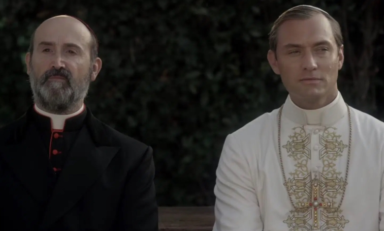 javier camara and jude law in the young pope