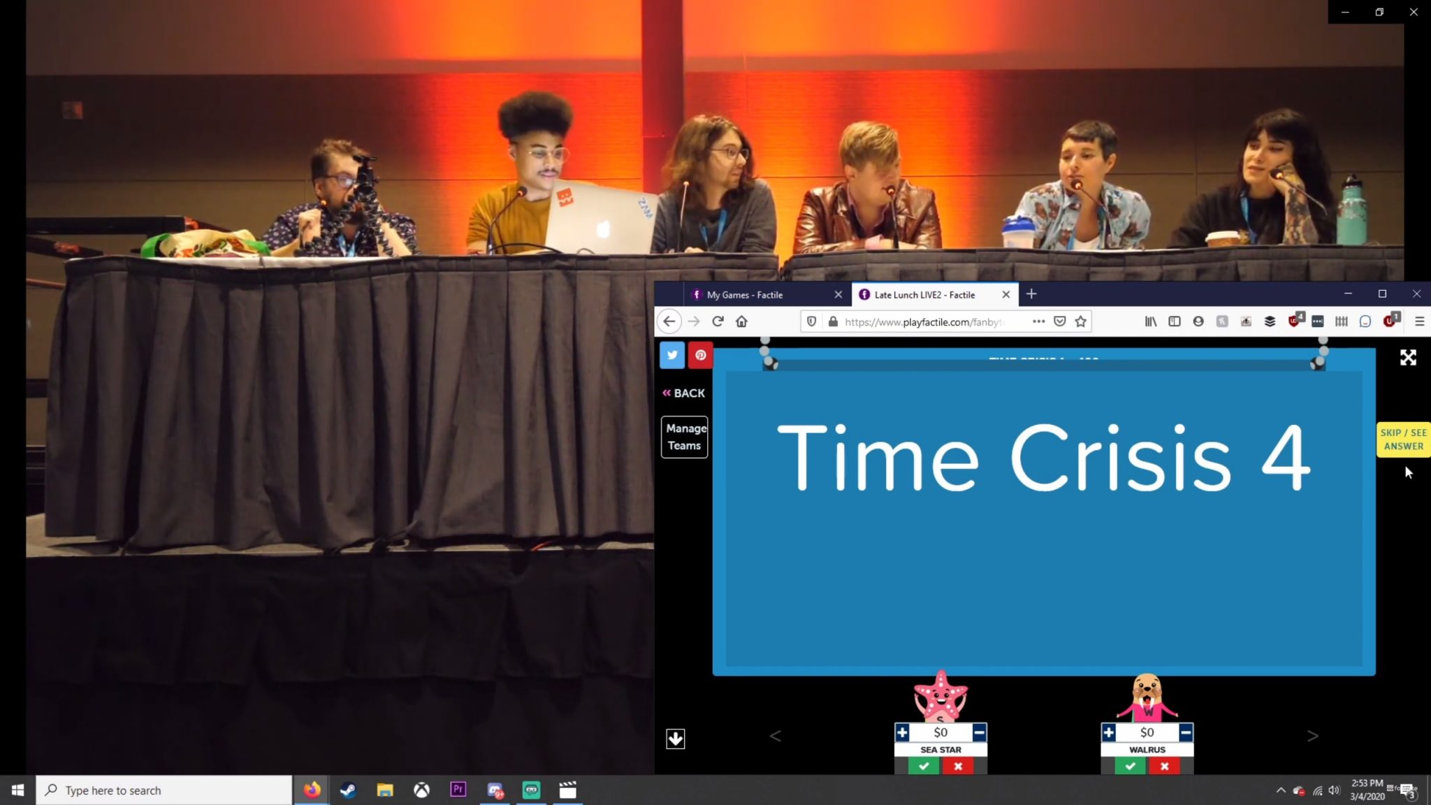 Photo of Late Lunch LIVE @ PAX East 2020 | Late Lunch (2/29/20)