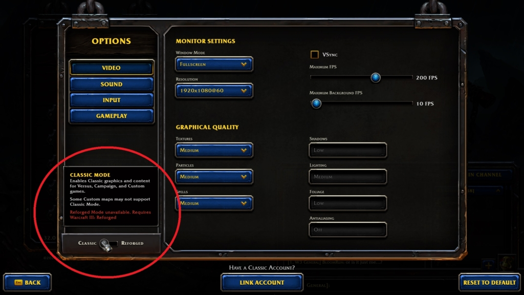 Warcraft 3 Classic Owners Are Forced To Download Reforged Instead