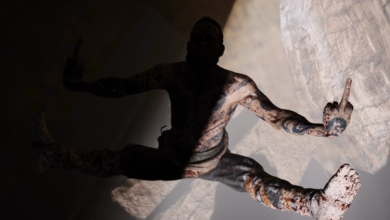 Photo of God of War Baddie Falling into the Abyss, Middle Fingers Out Feels Apt