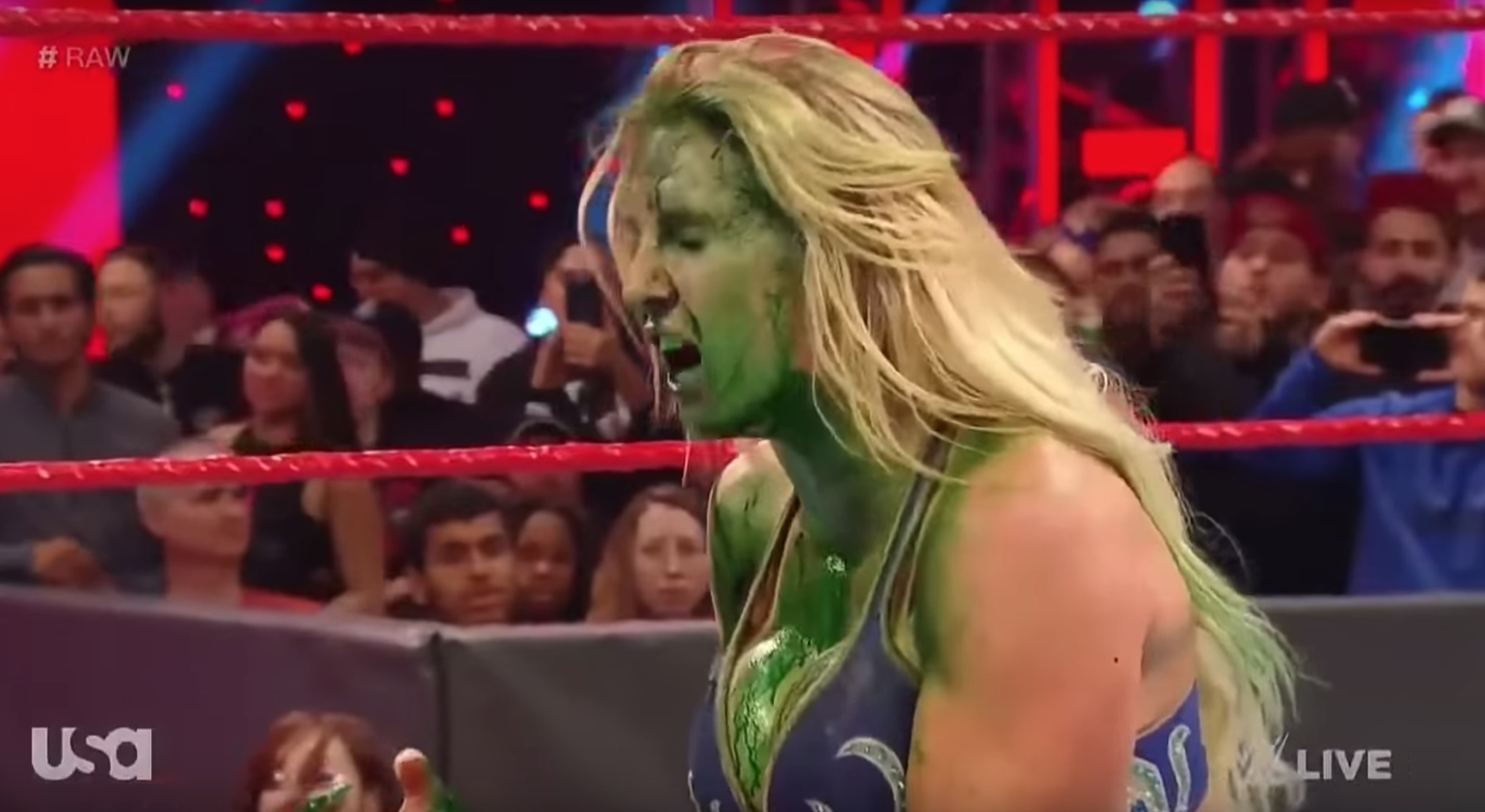 charlotte flair green mist