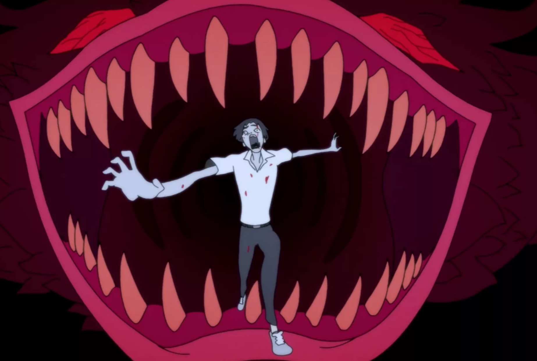 devilman crybaby mouth