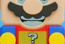 Photo of The Lego Mario Set is a Mario Maker Level That Takes Up Shelf Space