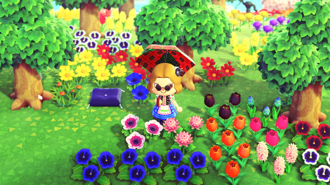 animal crossing flowers list