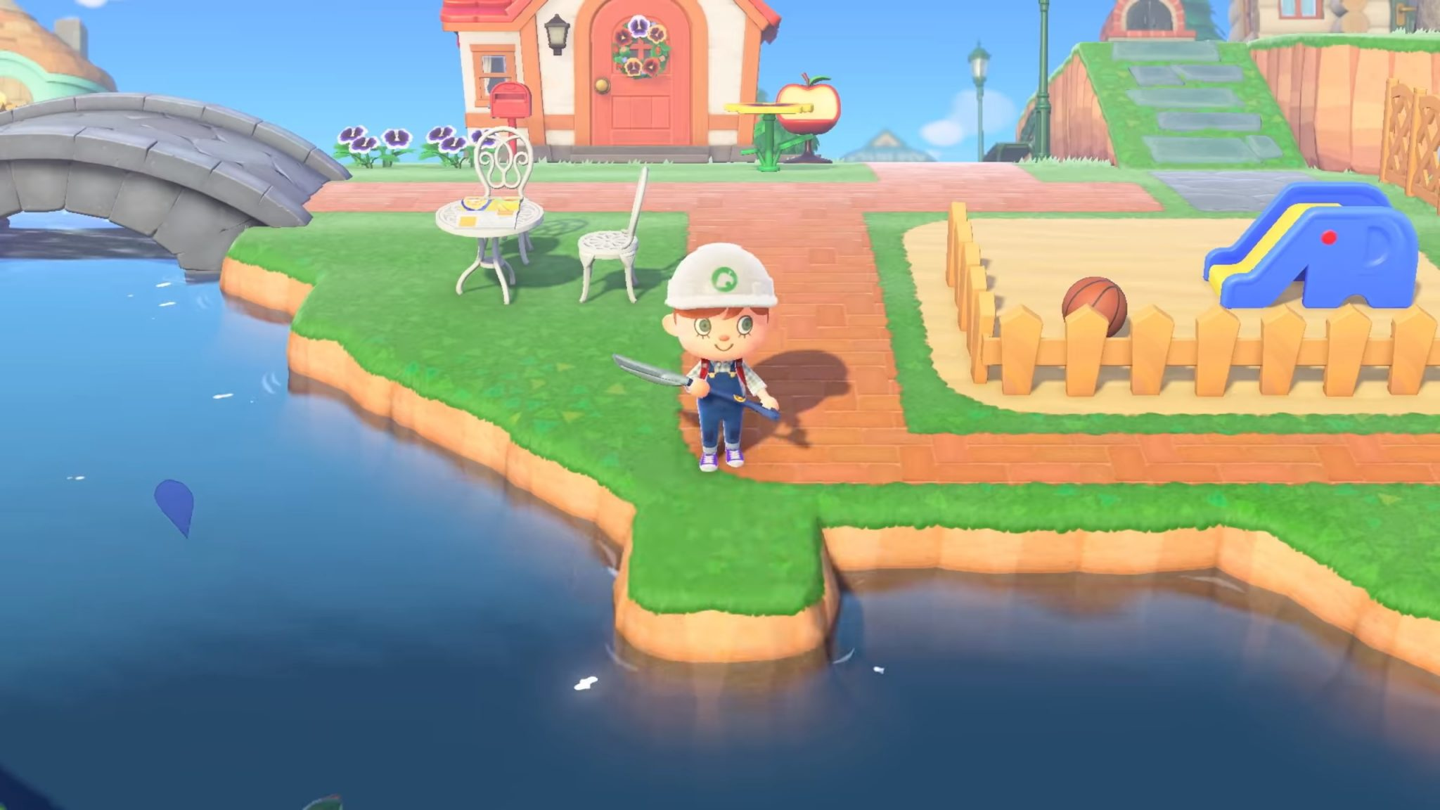 Photo of 8 Path Borders for Your Default Animal Crossing: New Horizons Island Paths