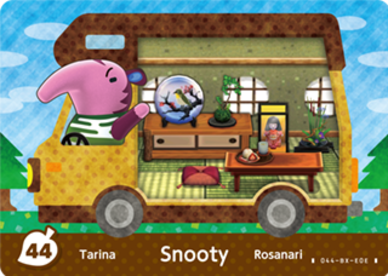 Animal Crossing Snooty