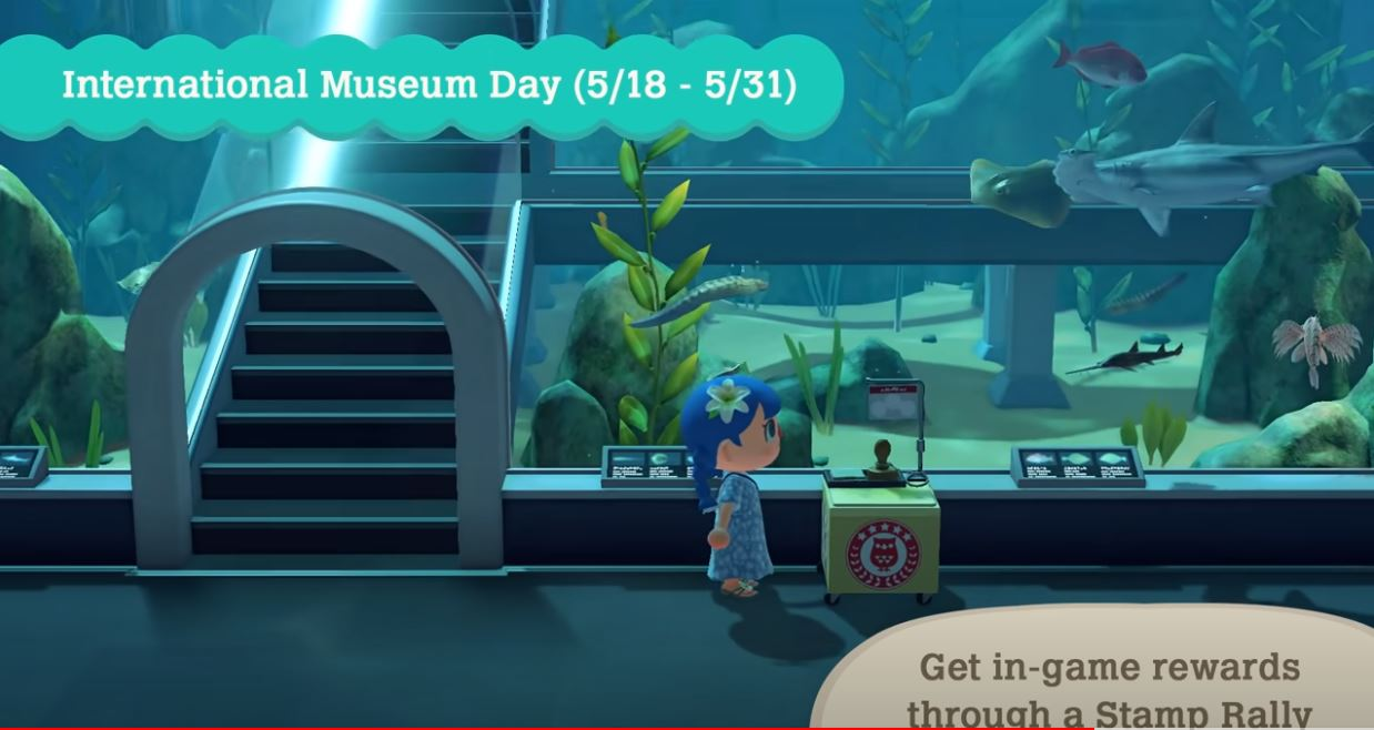 Animal Crossing New Horizons Museum Day Stamps