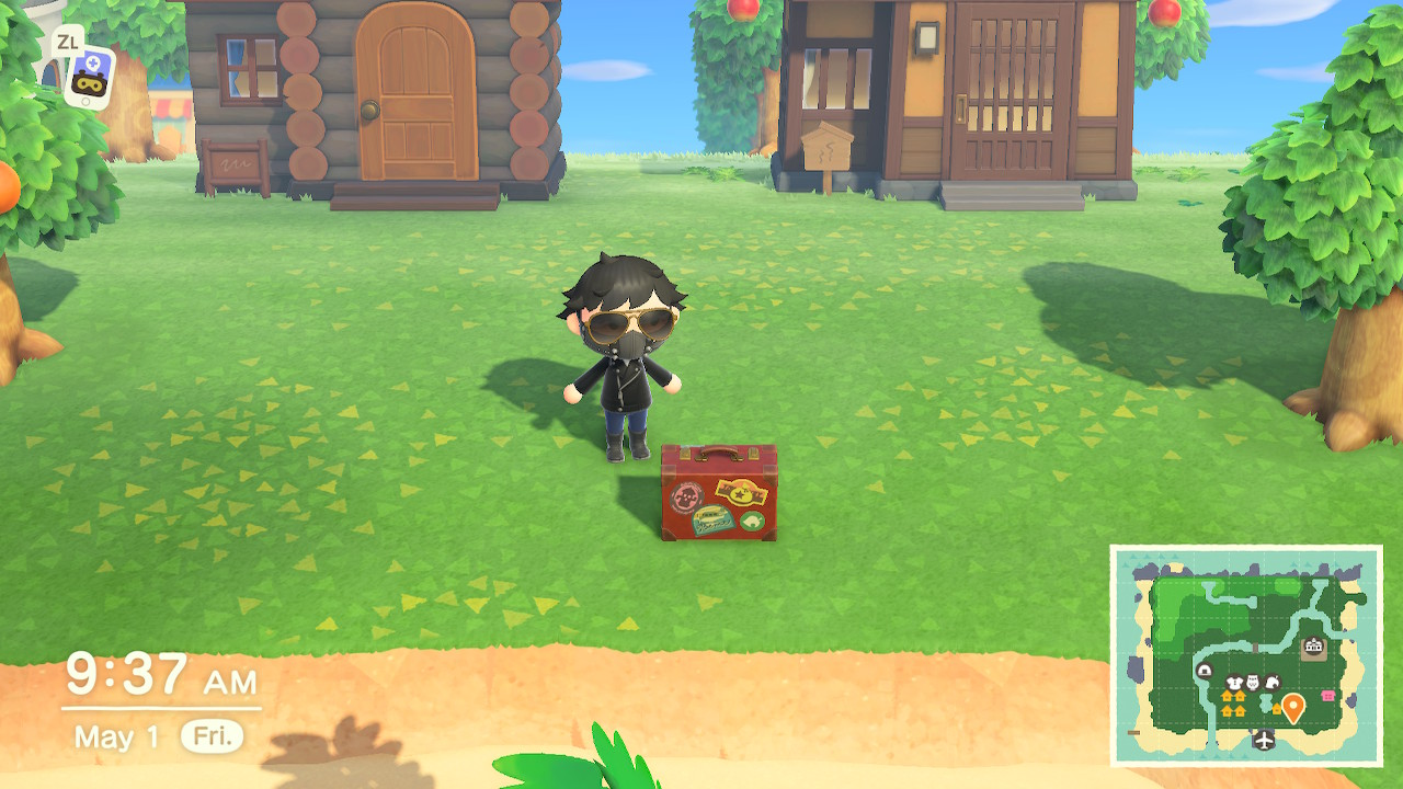 Animal Crossing New Horizons Rovers Briefcase