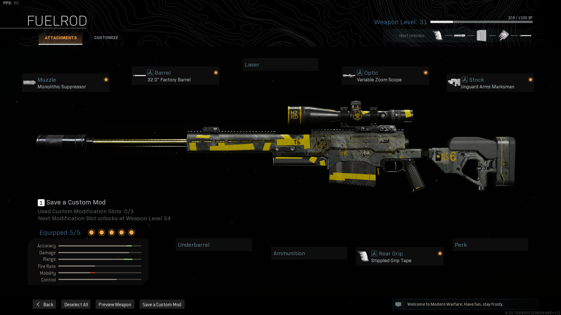 Cod Warzone Ax 50 Loadout Guide Best Loadout For The Ax 50