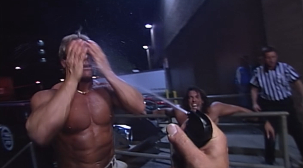 Photo of Sweat, Tears, and Mysterious Red Liquid: WCW Recap 5/8/00