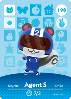 animal crossing agent s