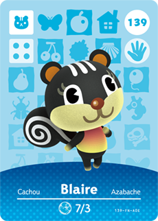 animal crossing blaire