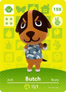 animal crossing butch