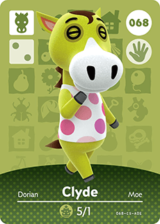 animal crossing clyde