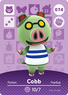 animal crossing cobb